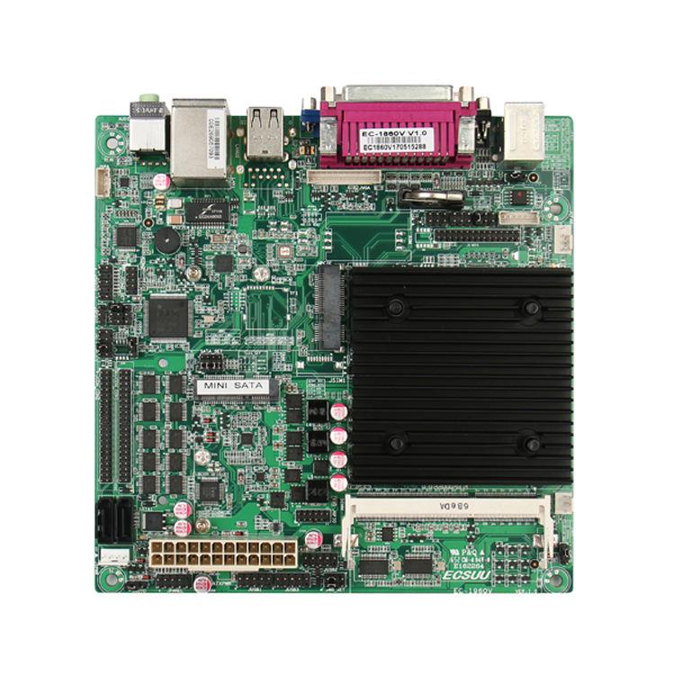 Шэньчжэнь intel celeron J1900 процессор 4 ядра linux 2 Порты ethernet lan мини Itx материнская плата