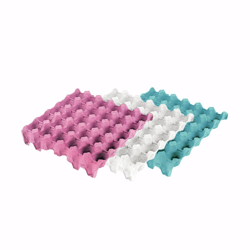 Qatar Professional Color Available Disposable Paper Egg Tray Supplier
