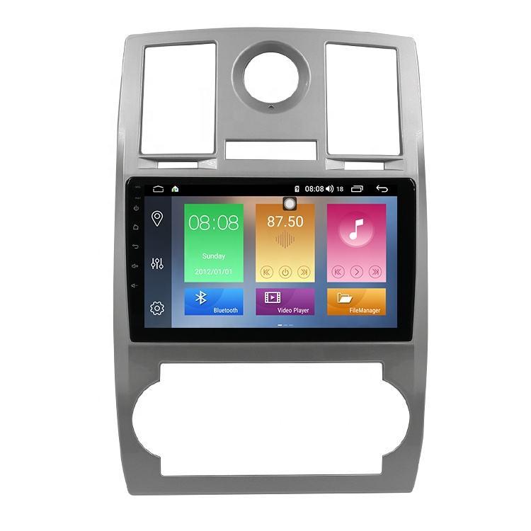 IOKONE 도매 안드로이드 9.0 GPS 플레이어 스테레오 자동차 오디오 크라이슬러 300C 2004 2005 2006 2007 2008
