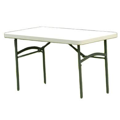 卸売ポータブル hdpe プラスチック折りたたみテーブル