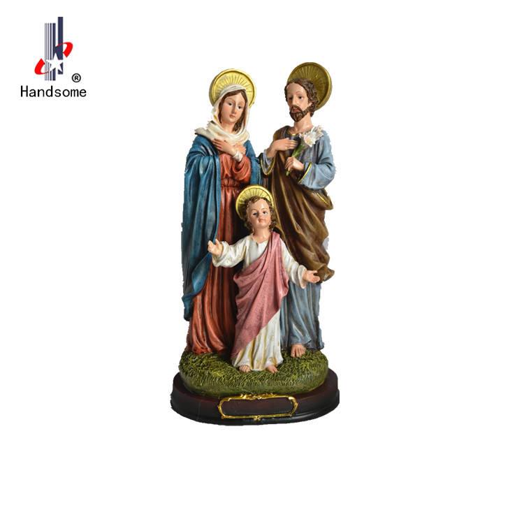 Costume De Fadas Jardim Miniaturas Sagrada Família Conjunto <span class=keywords><strong>Natividade</strong></span> Estatuetas de Resina