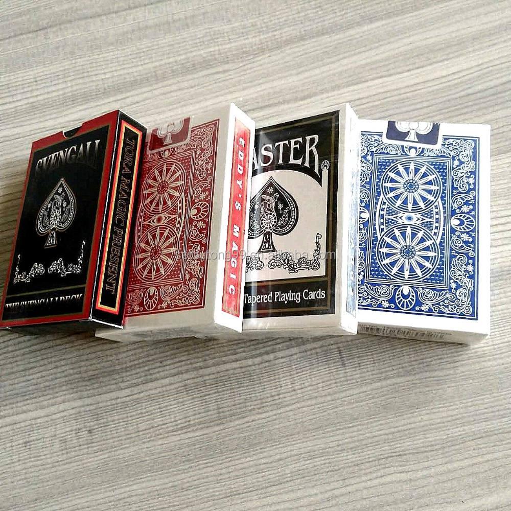asino preto núcleo de papel de poker de alta qualidade cartões de cartões de papel <span class=keywords><strong>jogando</strong></span> <span class=keywords><strong>cartas</strong></span> com <span class=keywords><strong>marca</strong></span> de anti-falsificação