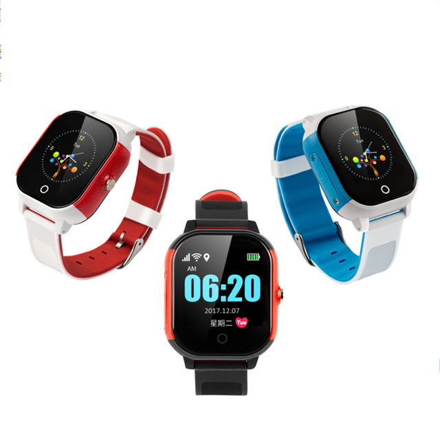 Color Smart Watch gps tracking system with Free APP Operate
