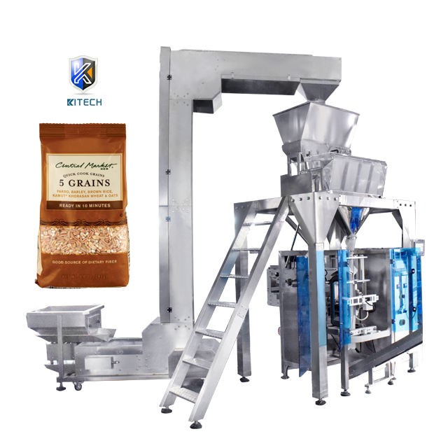 2020 new vertical automatic weighing grain mixing granule <span class=keywords><strong>pin</strong></span> bag packaging machine manufacturer
