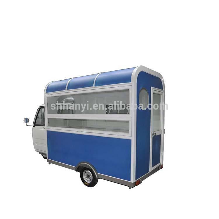 Коммерческий автомобиль общественного питания Электрический фаст-фуд Vans для продажи