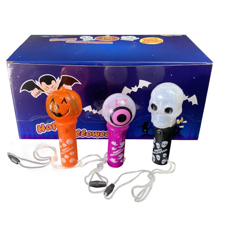 Traje de fiesta de Halloween a los niños Juguetes Led girando varita