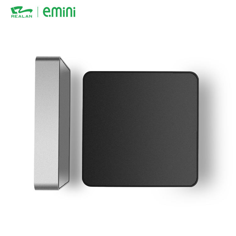 Bureau Commercial intel Celeron J1900 Quad Core Mini PC Portables Windows Barebone