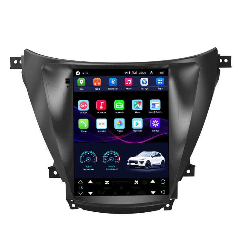 9.7 pollici video car dvd player touch screen car stereo con il gps del Android 10.0 del sistema per Hyundai Elantra <span class=keywords><strong>2012</strong></span>