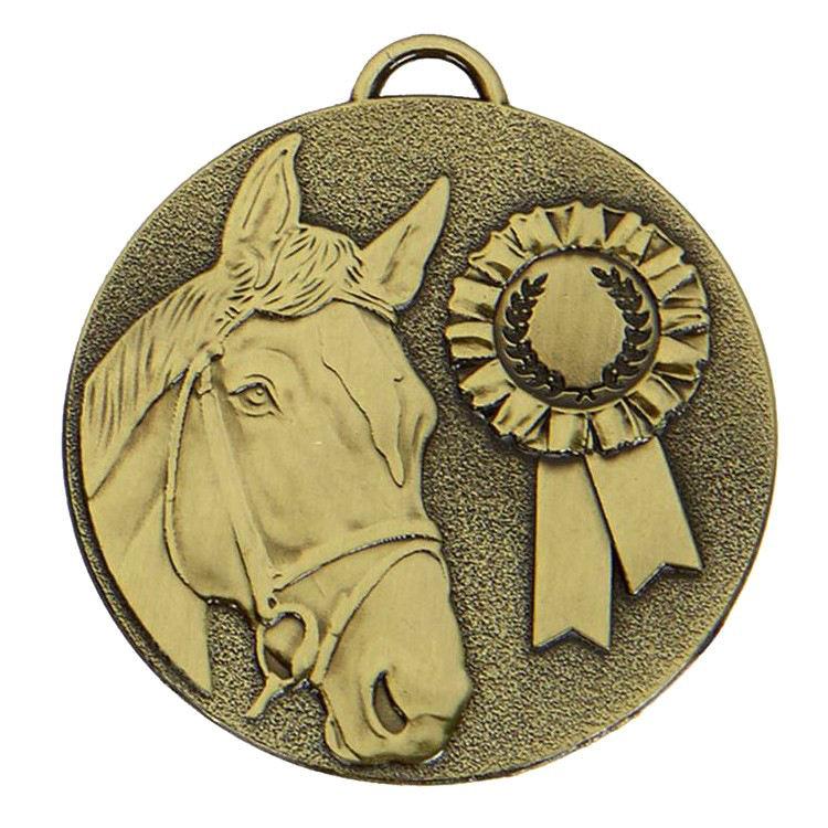 مخصص شعار البرونزية الهدف <span class=keywords><strong>روزيت</strong></span> الحصان ميدالية