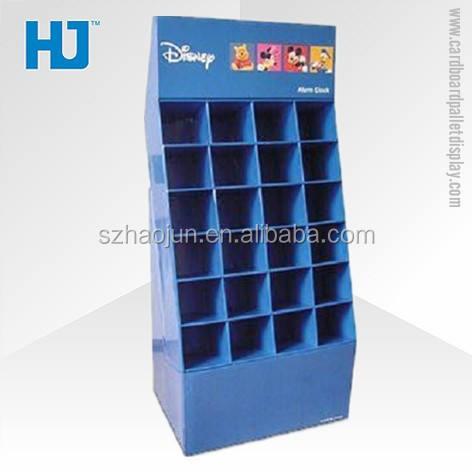 Heißer verkauf wellpappe möbel für kinder spielzeug/buch/dvd, bequemlichkeit shop möbel für disney spielzeug