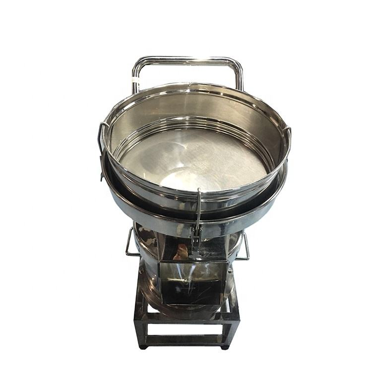 Small stainless steel cosmetic powder vibration sieving machine,vibration sifting powder machine