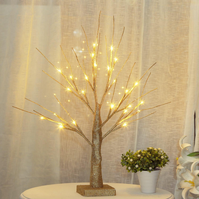 Bolylight маленькая Мерцающая рождественская елка с подсветкой березовые деревья для свадеб