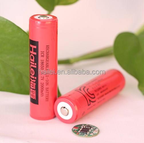 18650 3.7 V 2000/2200 mAh li-ion battery pack chứng <span class=keywords><strong>nh</strong></span>ận KC