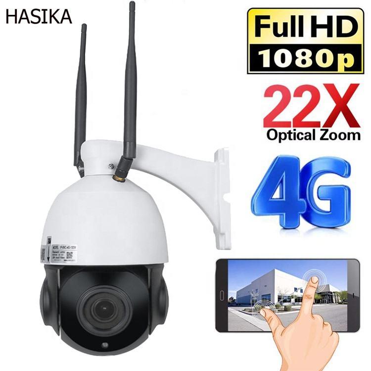 汎用IP防水屋外WiFi WiFi 22X CCTV simカードスロットワイヤレスホーム4g 3g ptz hd弾丸カメラ