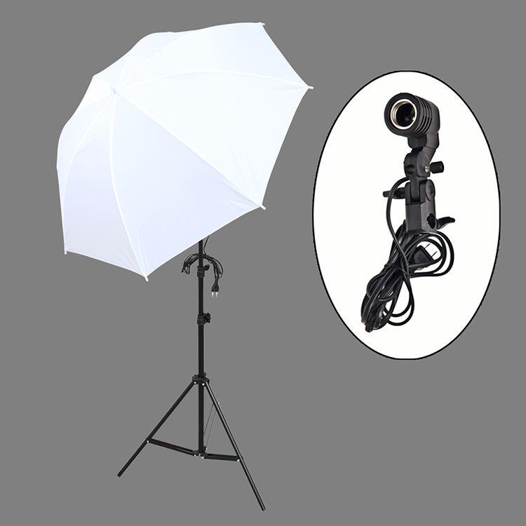 33 дюйма зонтик 45 Вт лампа видео светодиодный студийный комплект