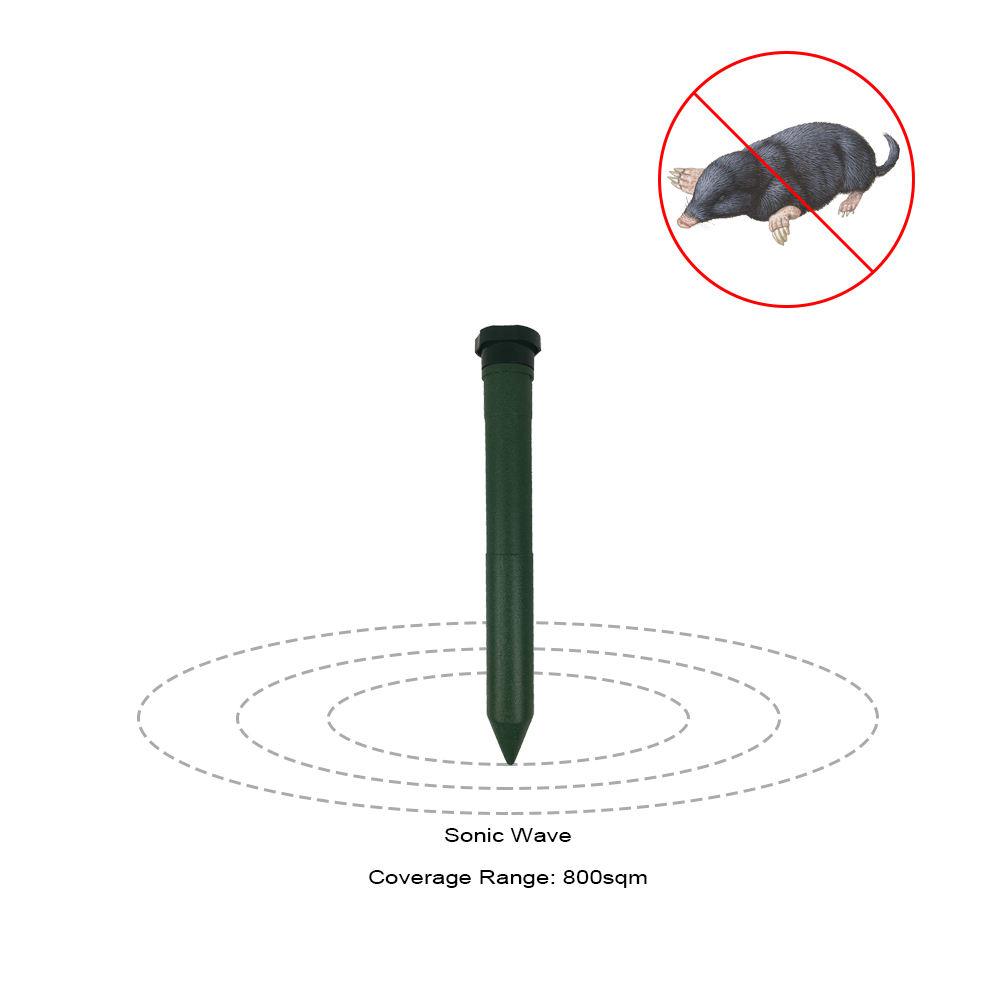 <span class=keywords><strong>Pin</strong></span> Hoạt Động Mole Repeller CE RoHS