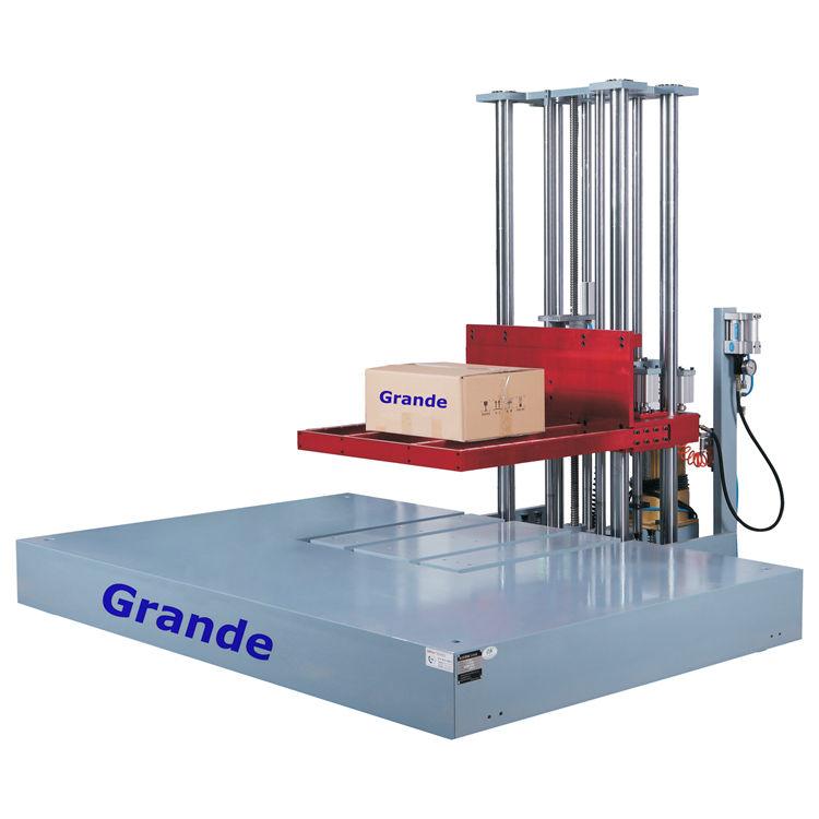 التعبئة والتغليف مربع ماكينة اختبار الصدمات قطرة اختبار ل الثقيلة حزمة