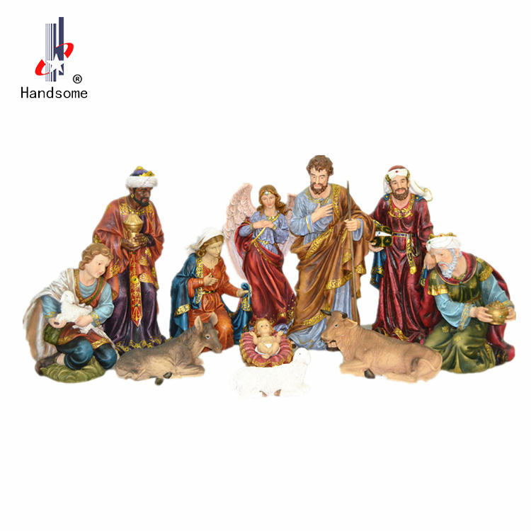 36 Inch Big Outdoor Christmas Nativity Set