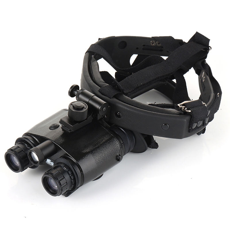 New Gen 1 + Infrared Helmet Night Vision Device 1X24 Head-Mounted NVG Binoculars NVMT Compact Green Imaging for Hunting Tactical