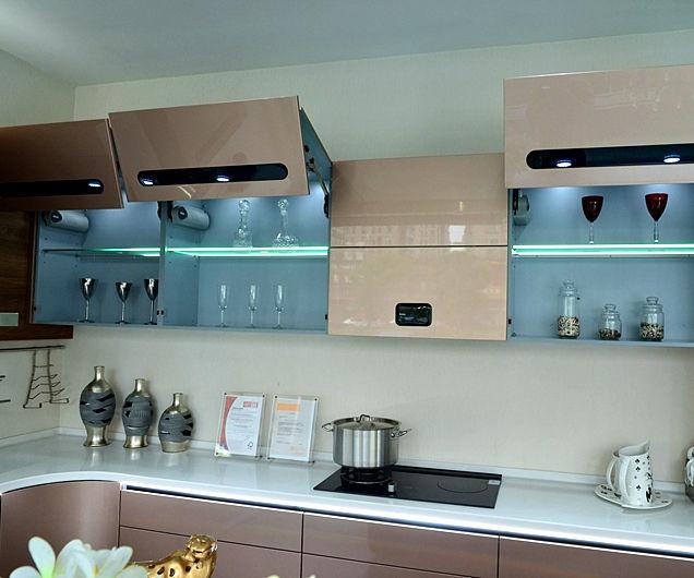 Прямая продажа с фабрики Цена Пакистан современный стиль круглый Угловой кухонный шкаф