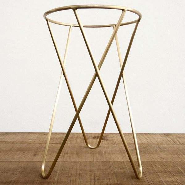 Großhandel maßge schneiderte Möbel poliert Chrom Metallrahmen moderne Goldbar Esstisch Beine