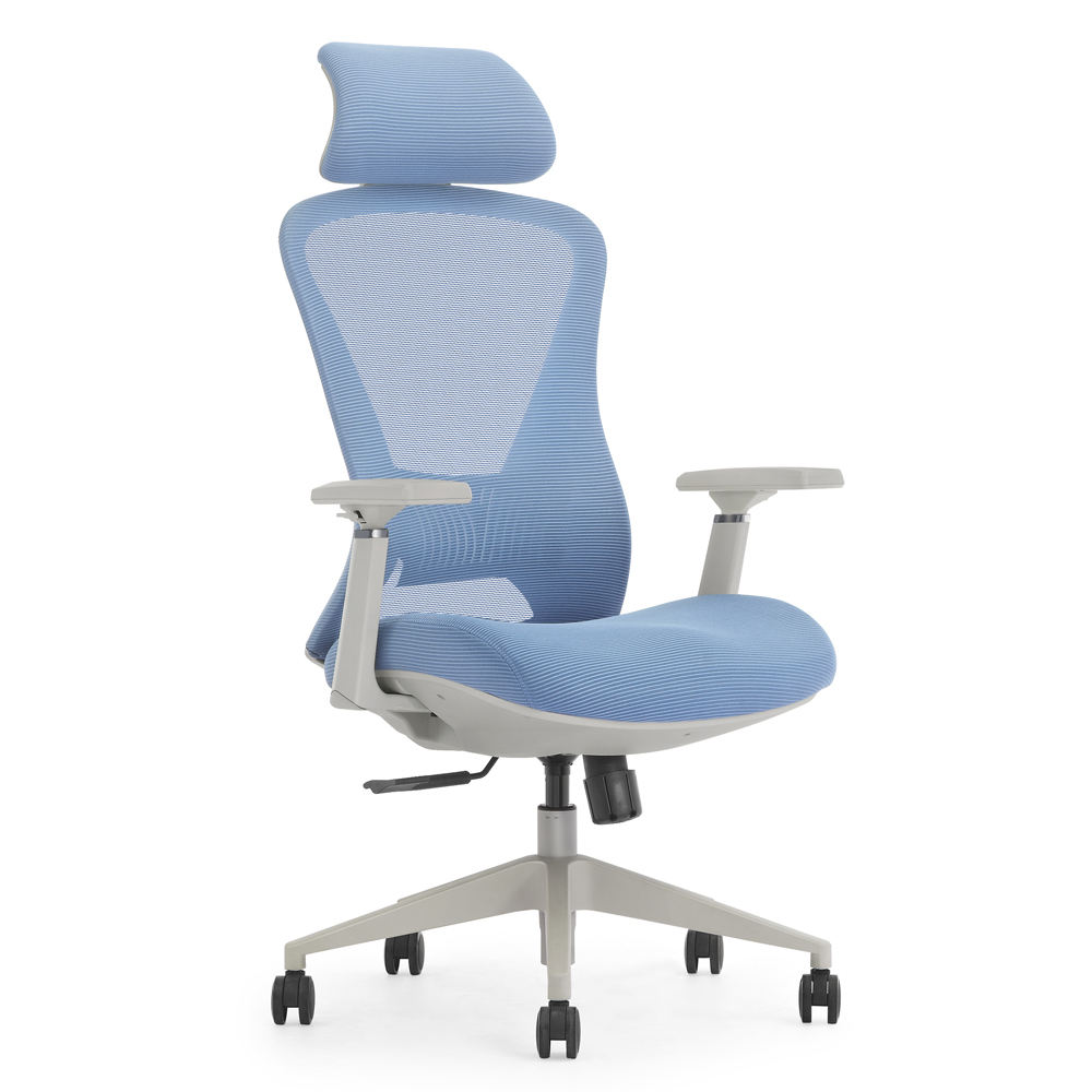 Ergonomically designed office computer mesh chair for commercial office furniture