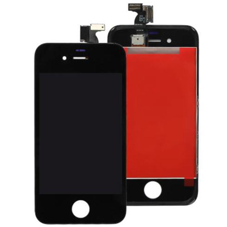 Para o iphone 4/4S Display LCD Qualidade OEM Digitador de Peças de Reparo Originais Da Tela de Toque Assembléia Branco/Preto