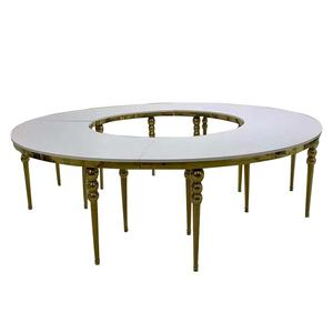 Durable Premium Half Moon Dining Table At Superb Deals Alibaba Com