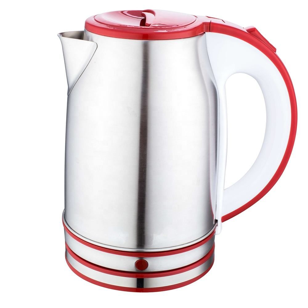 Factory small home kitchen appliance SS electric stock kettle