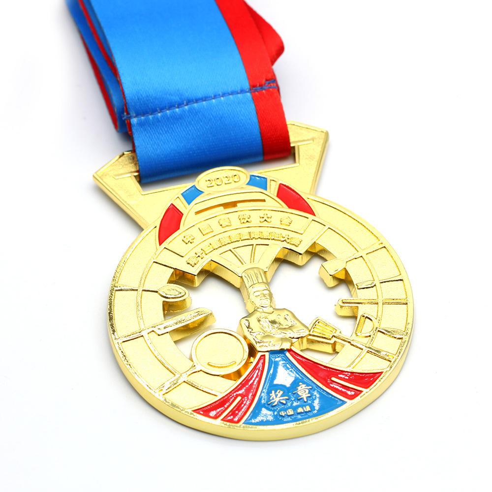 Медаль для бегущих разных видов, украшение для спортивного волейбола, подарок, военная награда, медаль