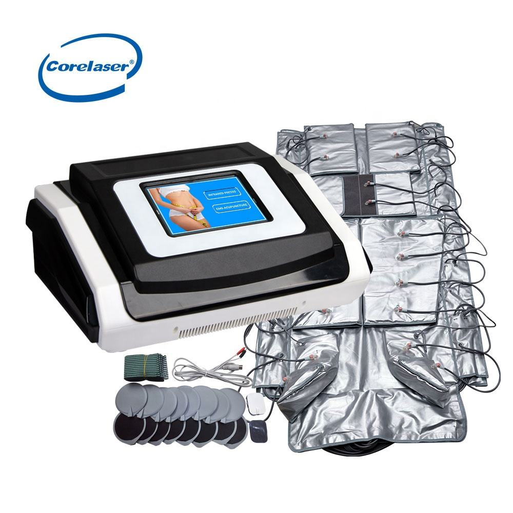 Top quality customized professional air pressure pressotherapy boots lymphatic drainage
