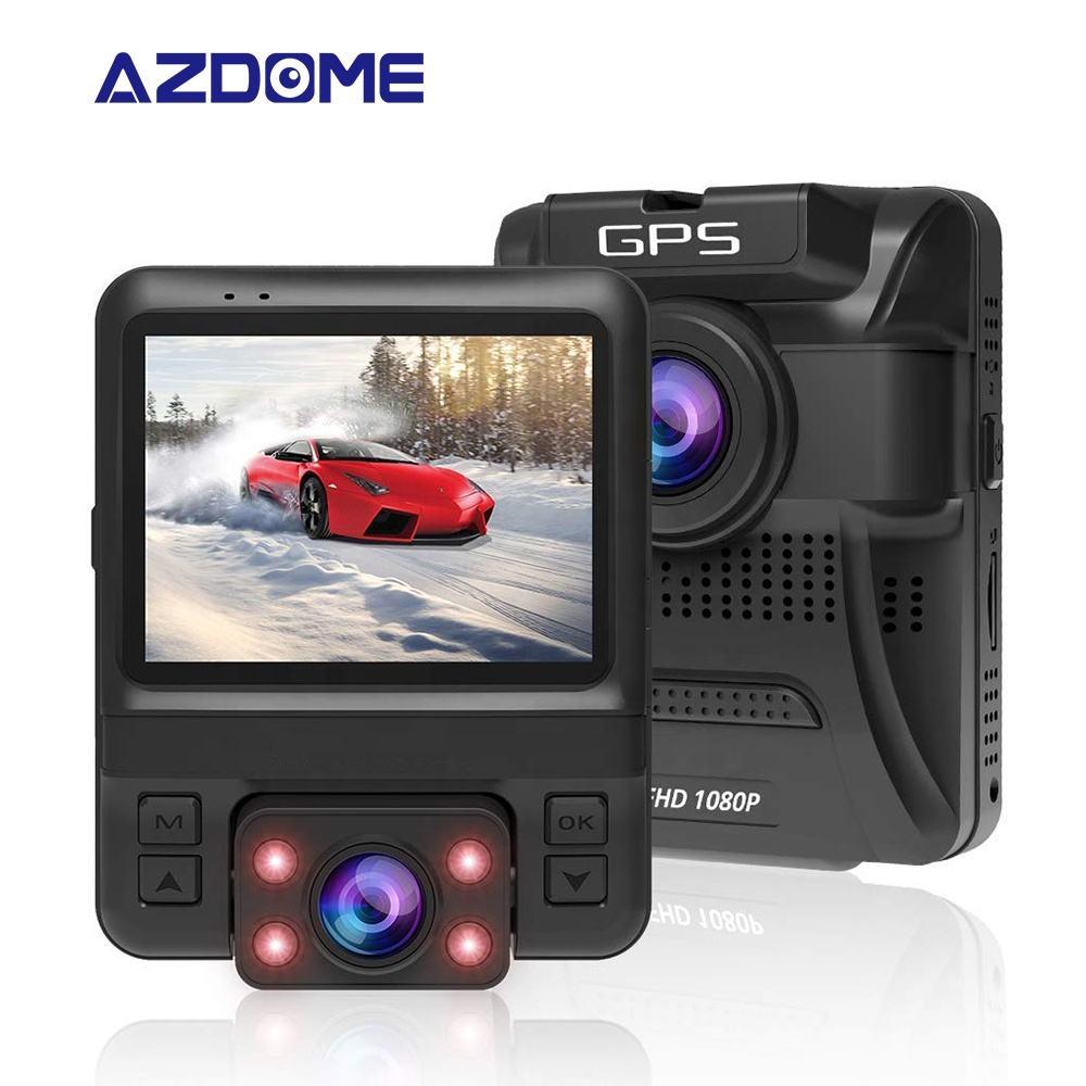 2.4 인치 HD 스크린 1080P 듀얼 렌즈 나이트 비전 자동차 DVR 카메라 대시 캠 주차 모니터링