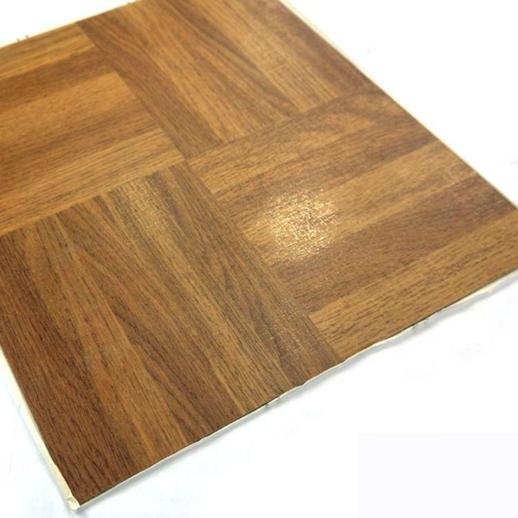 9mm autoadhesiva vinilo impermeable Plank pisos