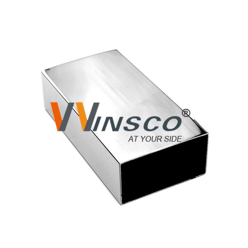 Fabricante buena venta de tubos rectangulares de acero inoxidable con superficie de espejo soldado cepillado pss <span class=keywords><strong>sss</strong></span> BA Mill con