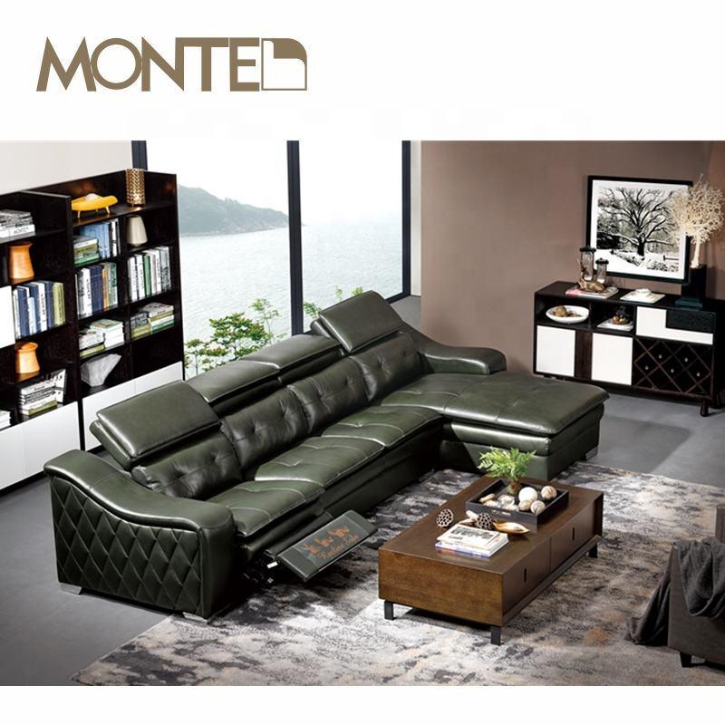 Auto sofá reclinable nuevo l en forma de sofá de esquina diseños