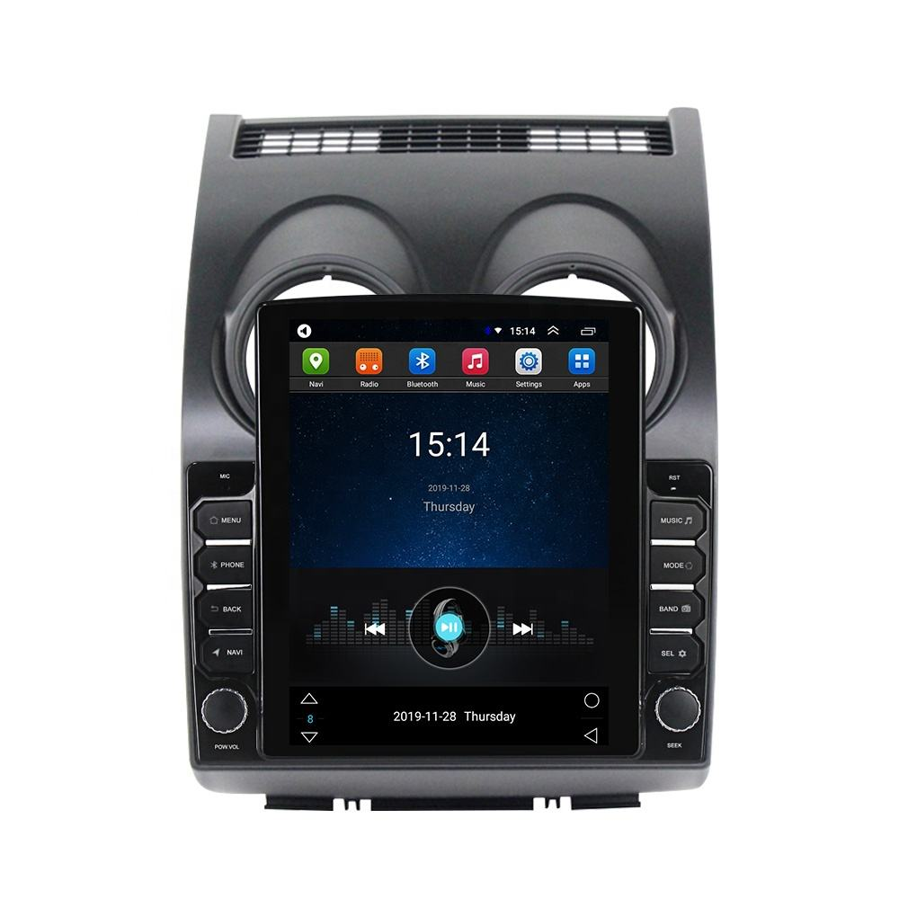 Tesla Vertical Android Car Radio Video Player For Nissan Qashqai J10 2006-2013 Car Navigation Stereo Multimedia System no dvd