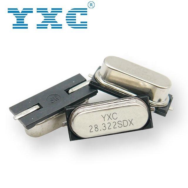 HC <span class=keywords><strong>49</strong></span> <span class=keywords><strong>SMD</strong></span> 20pF 20PPM Quarzo Oscillatore A Cristallo 28.322MHz