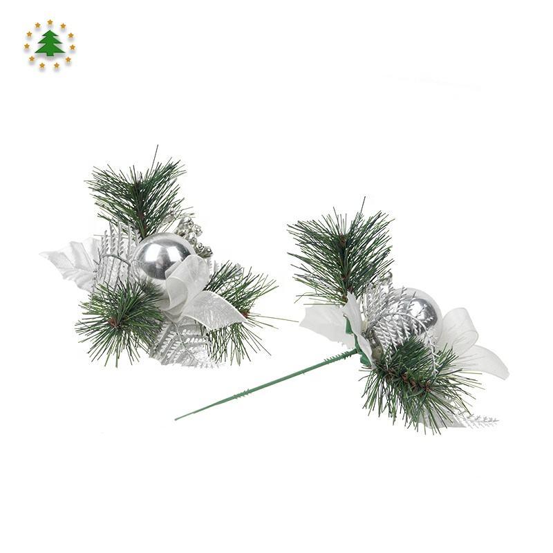 2020 оптовая продажа Рождество домашние украшения серебро красивые рождественские хлопушки