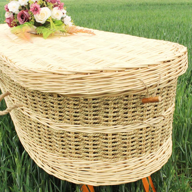 Çin'den malzemeler Seagrass Tabut Ve Çekmeceler/Cenaze