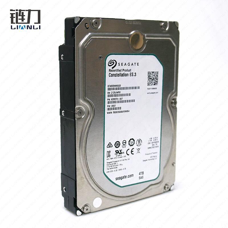 Оригинальная упаковка Новый Seagate Сервер жесткий диск 3,5 ''4 ТБ Constellation es.3cache 128MB HDD для компаний