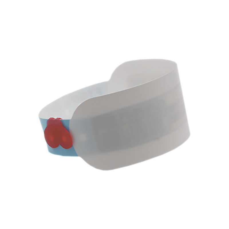 FTGO good quality wholesale identification rfid snap lock wristbands for events