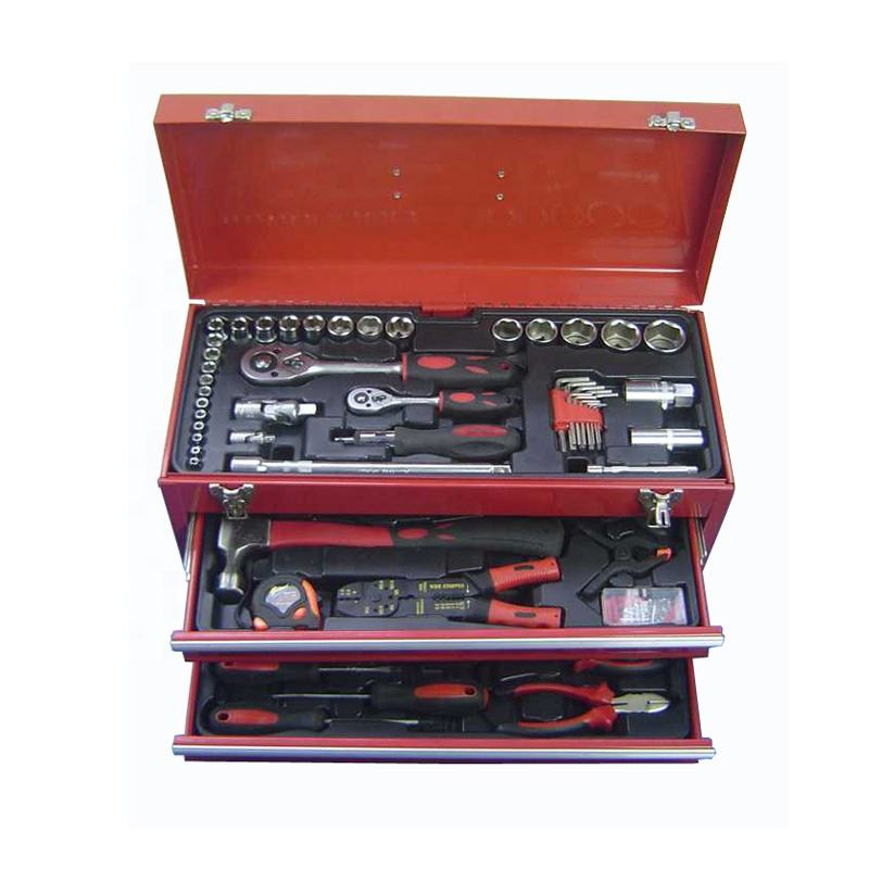 RT168A 168 adet kaliteli kombinasyon mekanik araç seti karbon çelik malzeme ile