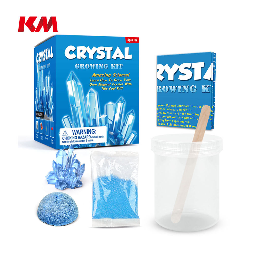Best Quality DIY Science Experiment Educational Toy For Kids Crystal Science Crystal Growing Kit Different Kind Of Toy For Kid