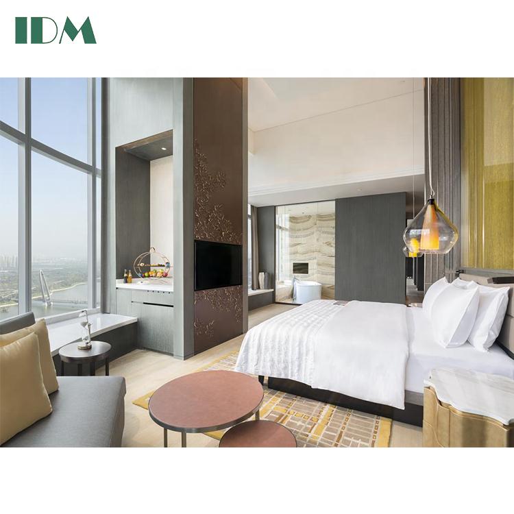 IDM-036 на заказ 3 и 5 звезд, наборы мебели для гостиничной комнаты для отелей от производителя
