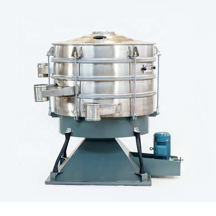 Many layers high quality high precision chilli powder vibrating sieves making machine