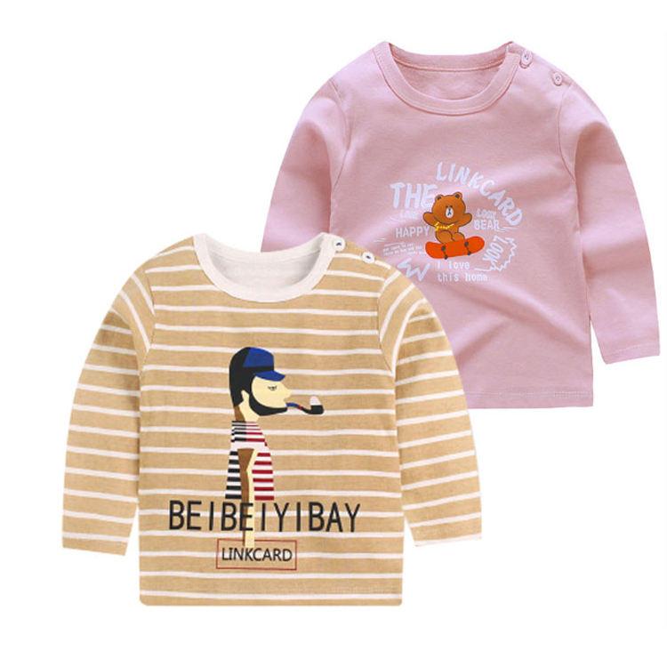 для детей 100% хлопок, детские топы, футболка с длинными рукавами и рисунком для мальчиков