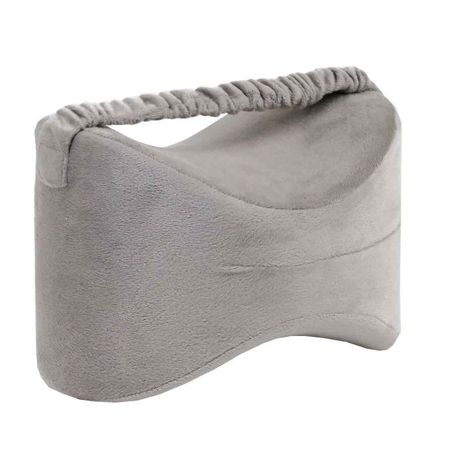 горячая Распродажа боковые спальные места пены памяти ног Расслабляющая Подушка для колен с ремешком съемный чехол