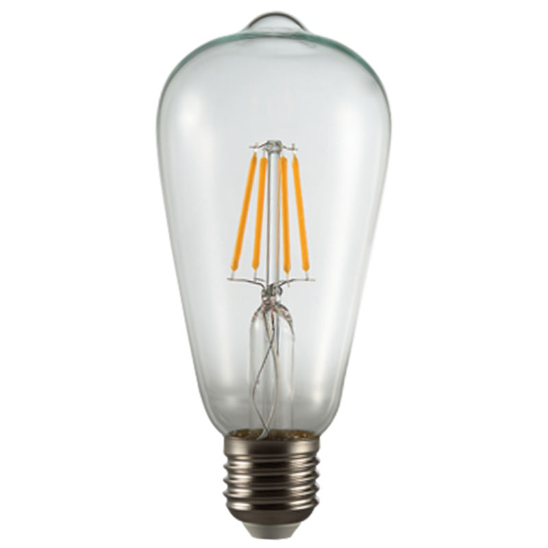 ST64 E27 4W Dimmable Edison Retro LED Filament Bulb Light for Theme Park