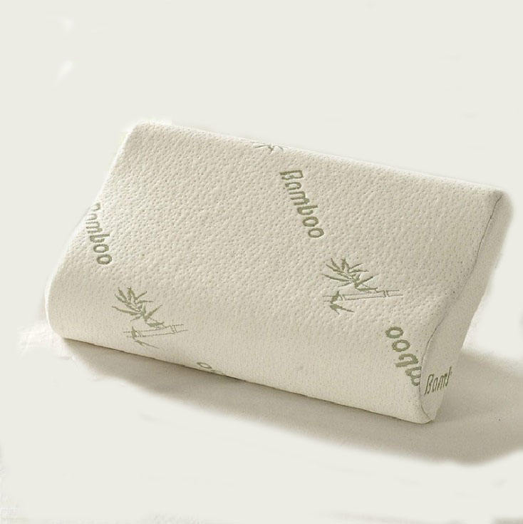 Новая качественная гипоаллергенная подушка из пены с эффектом памяти с наволочкой из бамбуковой ткани снимает храп и боль в шее