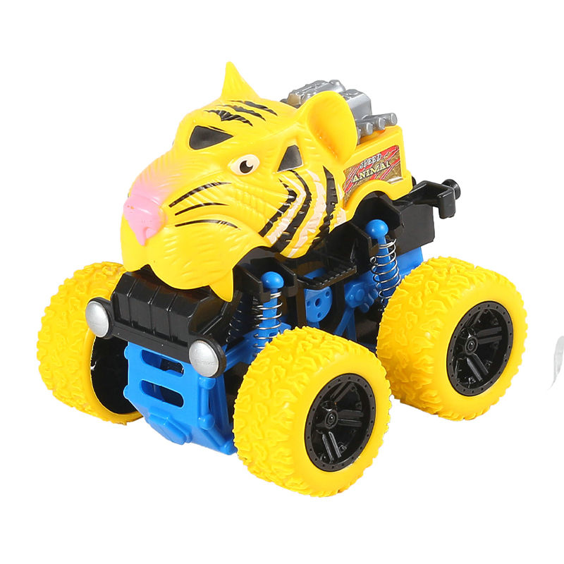 Wholesale funny animal cheap monster truck toys power friction car for kid